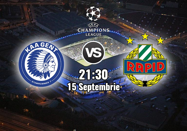 Gent vs Rapid Viena, Champions League, 2020
