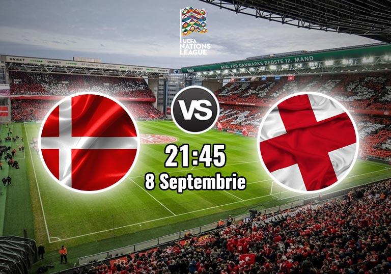 Danemarca Anglia, Liga Natiunilor, 2020