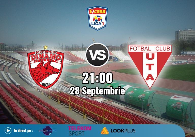 Dinamo UTA, Liga 1, 2020