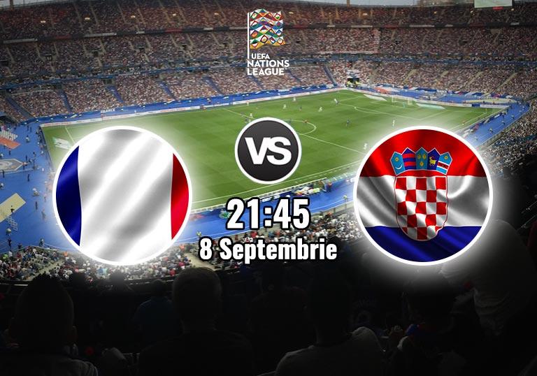 Franta Croatia, Liga Natiunilor, 2020