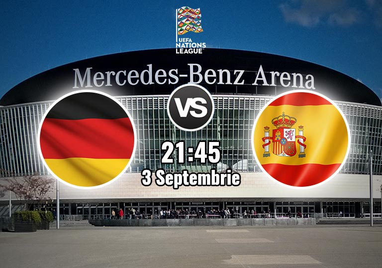Germania vs Spania, Nations League, 2020