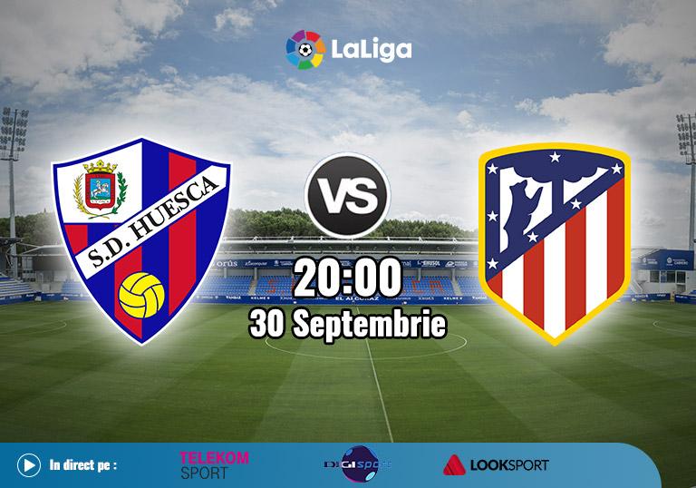 Huesca Atletico Madrid, La Liga, 2020