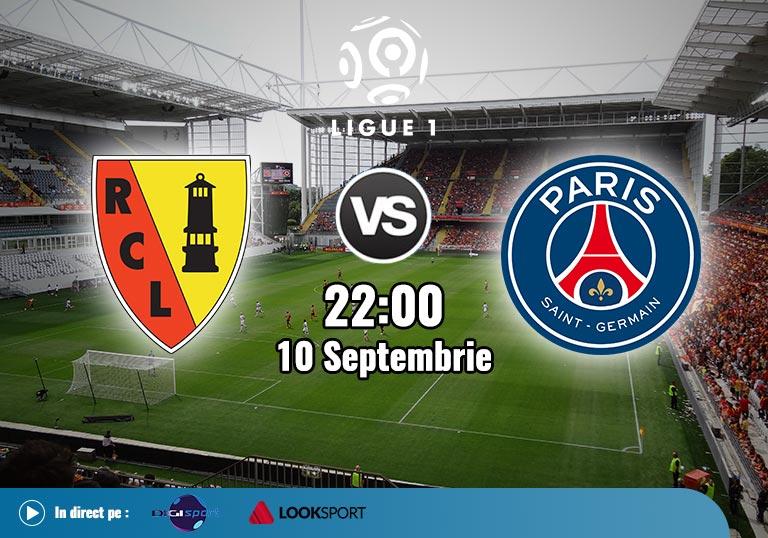 Lens vs PSG, Ligue 1, 2020