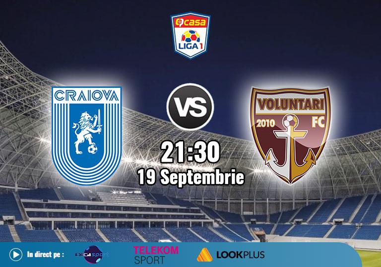 CSU Craiova Voluntari, Liga 1, 2020