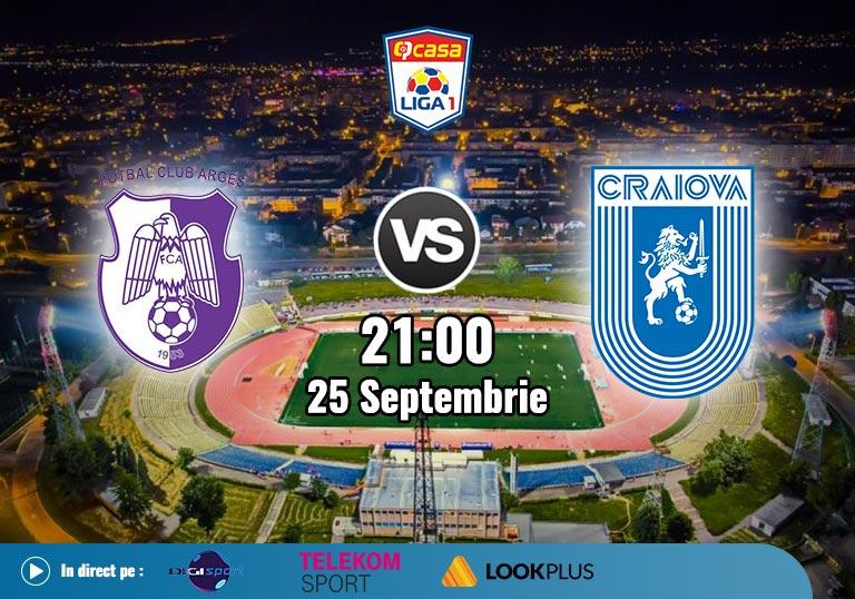 FC Arges CSU Craiova, Liga 1, 2020