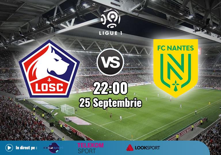Lille Nantes, Ligue 1, 2020