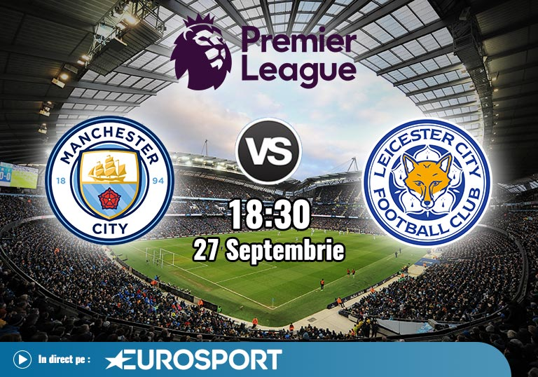 Man City Leicester, Premier League, 2020