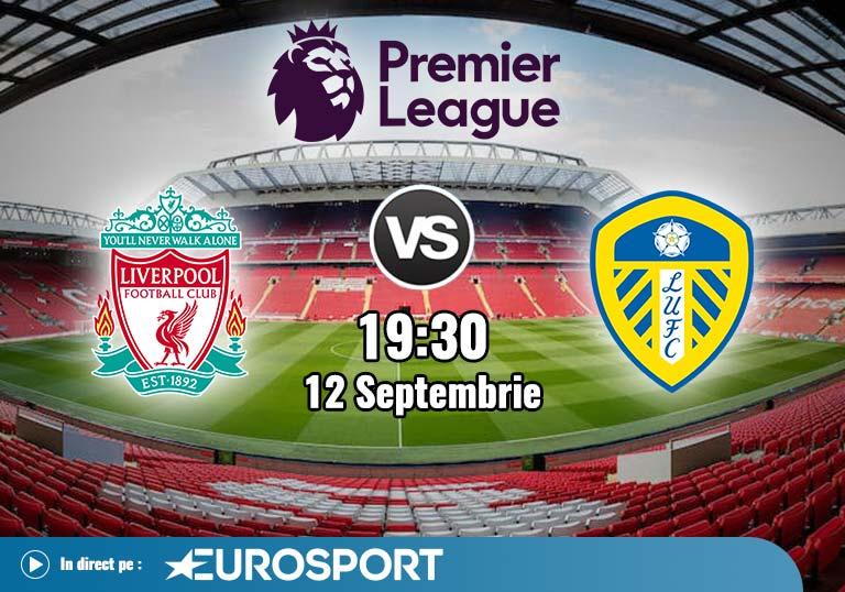 Liverpool vs Leeds, Premier League, 2020