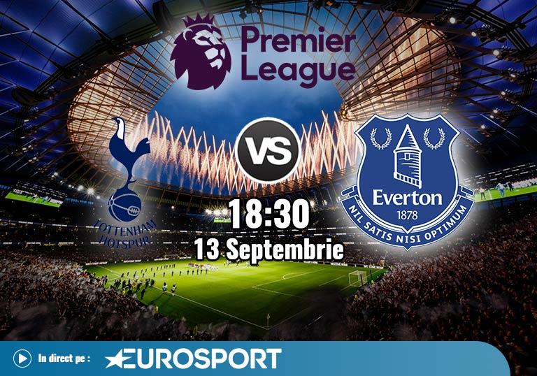 Tottenham Everton, Premier League, 2020