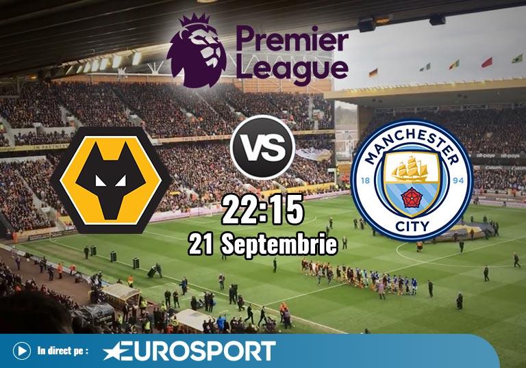 Wolverhampton Man City, Premier League, 2020