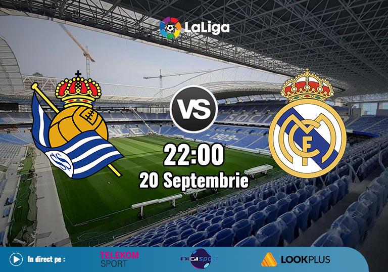 Real Sociedad Real Madrid, La Liga, 2020