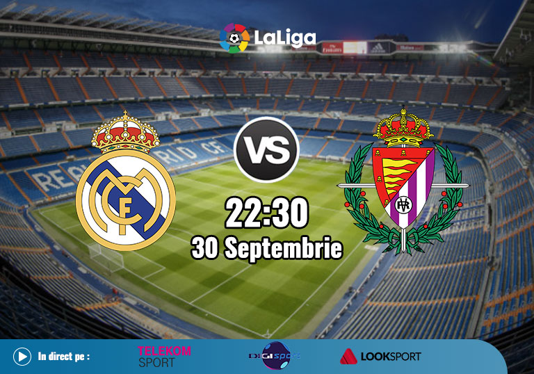 Real Madrid vs Valladolid, La Liga, 2020