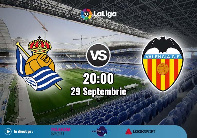 Real Sociedad Valencia, La Liga, 2020
