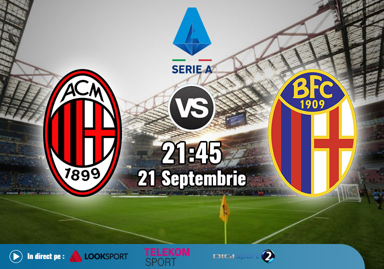 Milan Bologna, Serie A, 2020