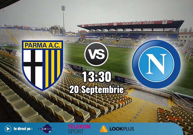 Parma Napoli, Serie A, 2020