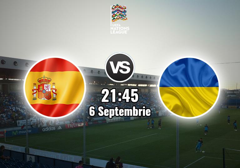 Spania Ucraina, Liga Natiunilor, 2020