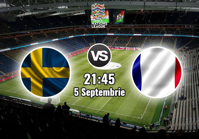 Suedia vs Franta, Liga Natiunilor, 2020