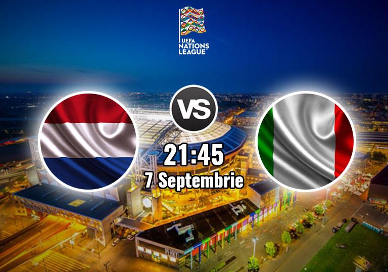 Olanda vs Italia, Liga Natiunilor, 2020