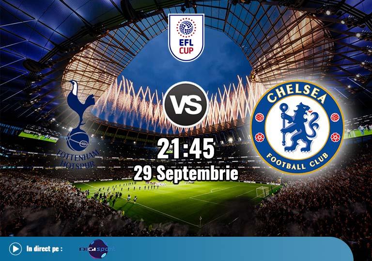 Tottenham Chelsea, EFL Cup, 2020