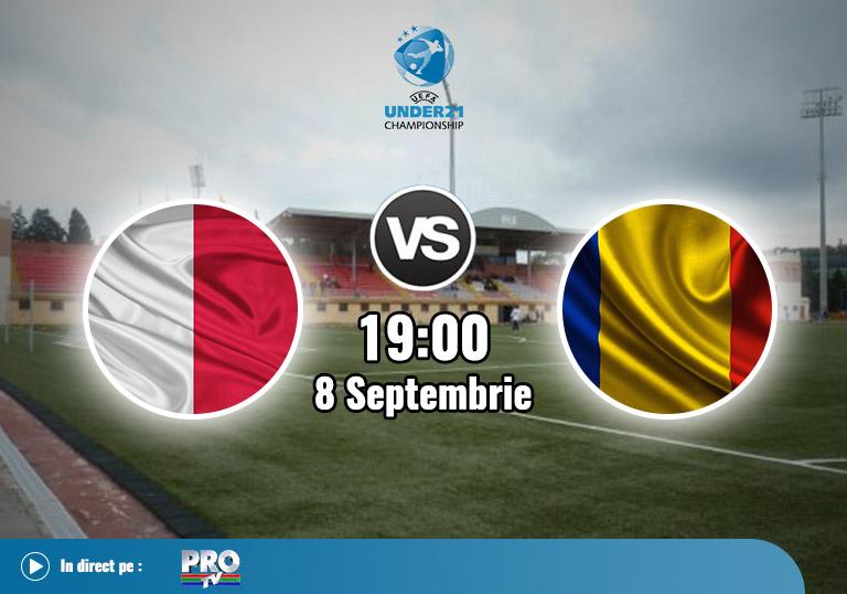 Malta vs Romania, Calificari U21, 2020