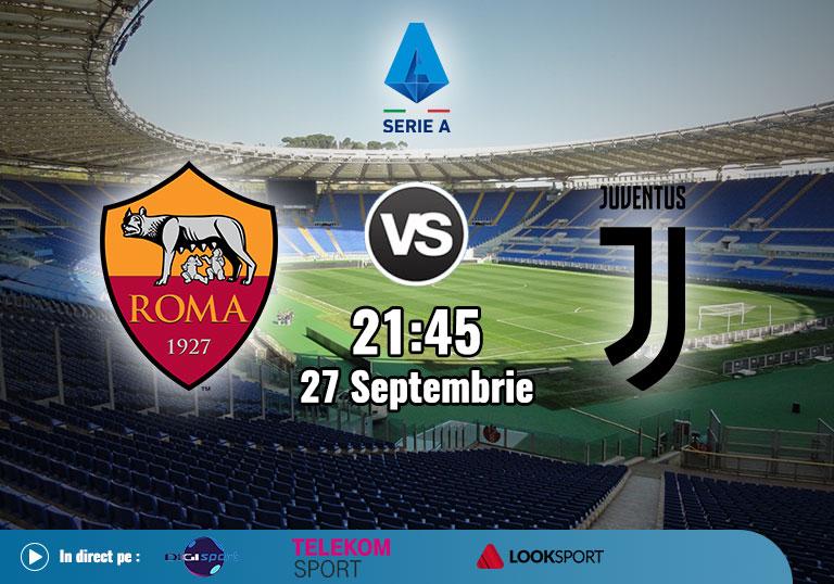 Roma Juventus, Serie A, 2020