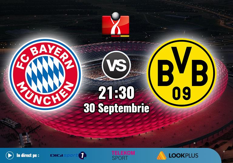 Supercupa Germaniei, Bayern vs Borussia Dortmund, 2020