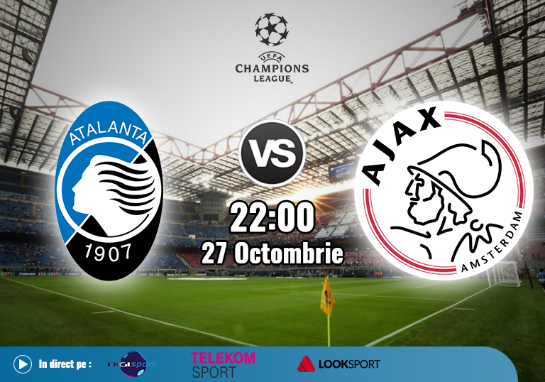 Atalanta Ajax , Champions League , 2020