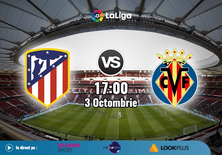 Atletico Madrid Villarreal , La Liga, 2020
