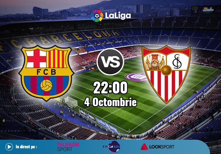 Barcelona Sevilla, La Liga, 2020