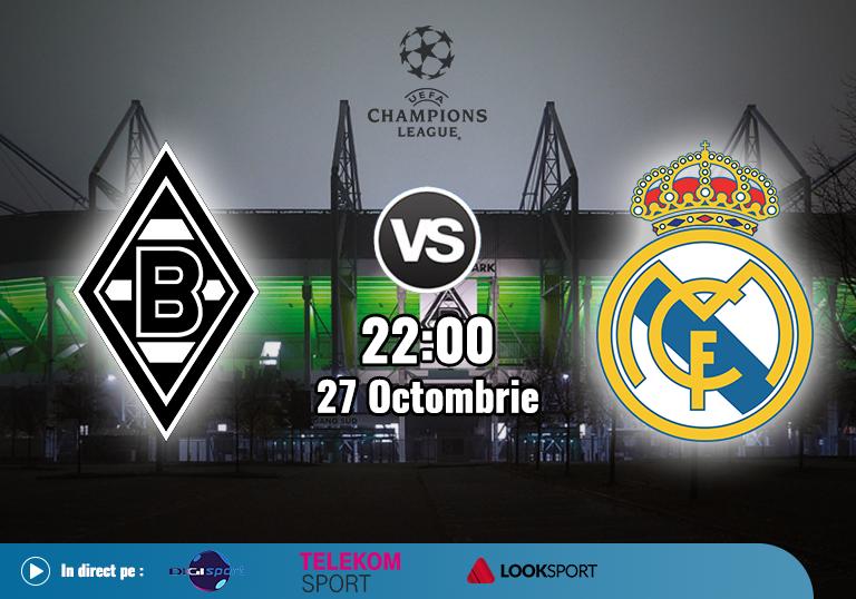 Gladbach Real Madrid , Champions League , 2020