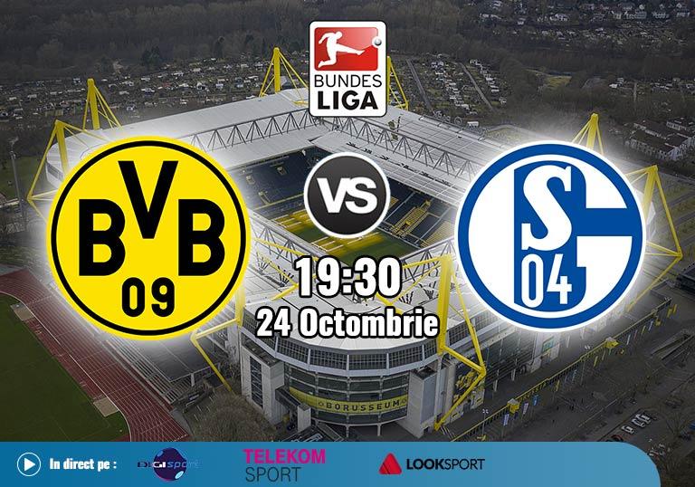 Borussia Dortmund Schalke , Bundesliga , 2020