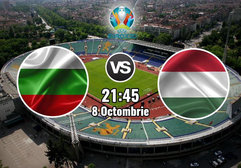 Bulgaria Ungaria, Baraj Euro 2020