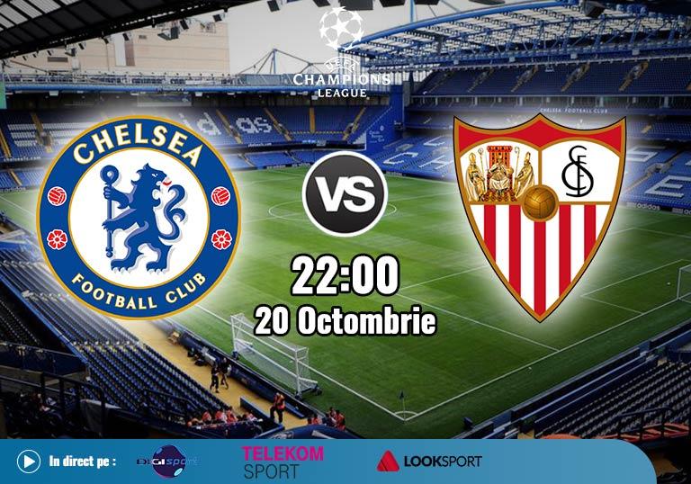 Chelsea Sevilla , Liga Campionilor , 2020