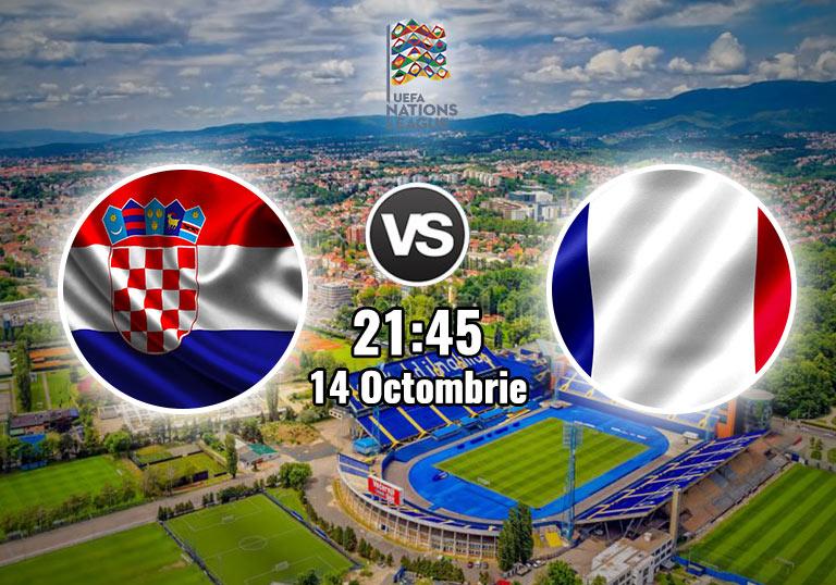 Croatia Franta , Liga Natiunilor , 2020