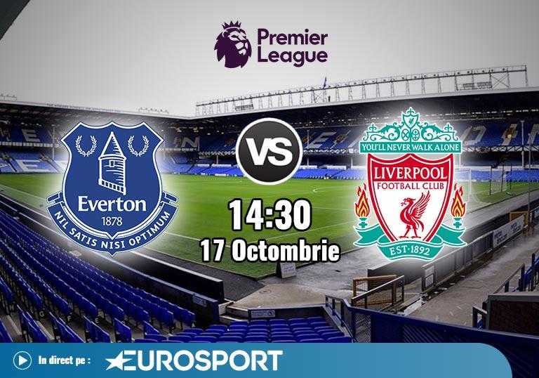 Everton Liverpool , Premier League , 2020
