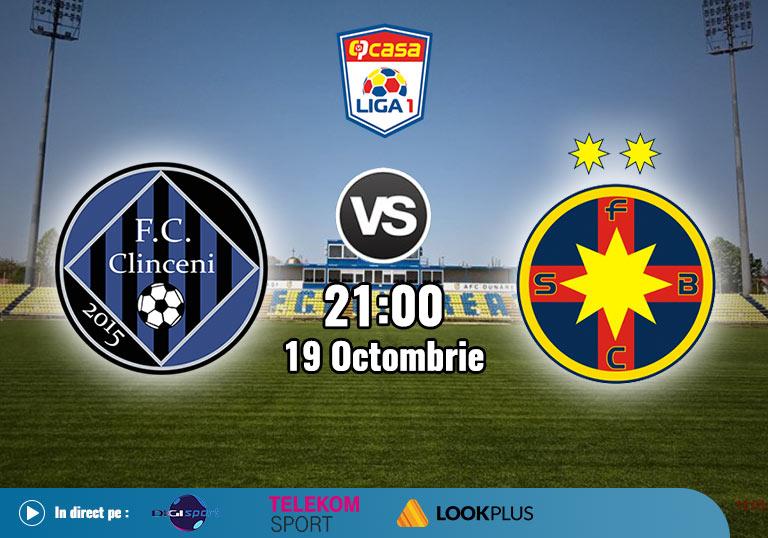 Clinceni FCSB , Liga 1 , 2020