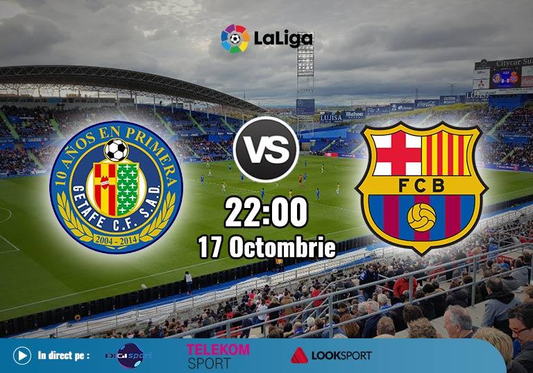 Getafe Barcelona , La Liga , 2020