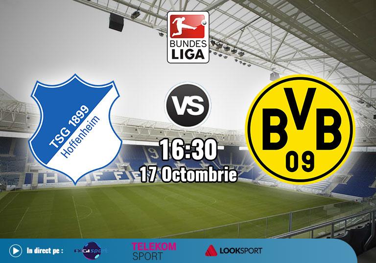 Hoffenheim vs Borussia Dortmund , Bundesliga , 2020