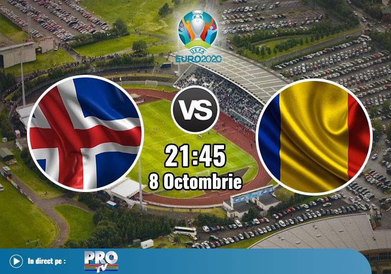 Islanda Romania , Baraj Euro 2020
