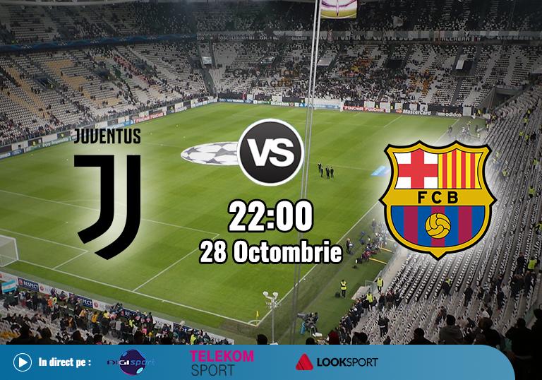 Juventus Barcelona , Champions League , 2020