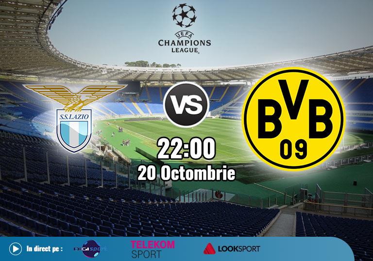 Lazio Borussia Dortmund , Liga Campionilor , 2020