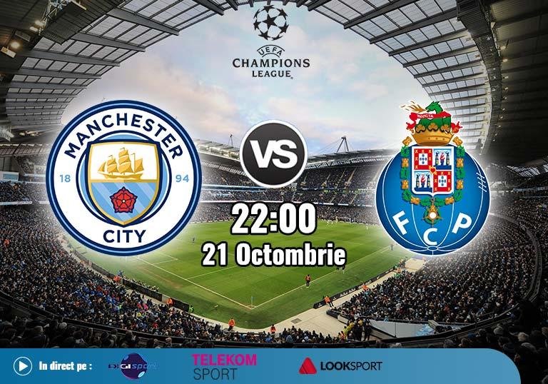Man City Porto , Liga Campionilor , 2020