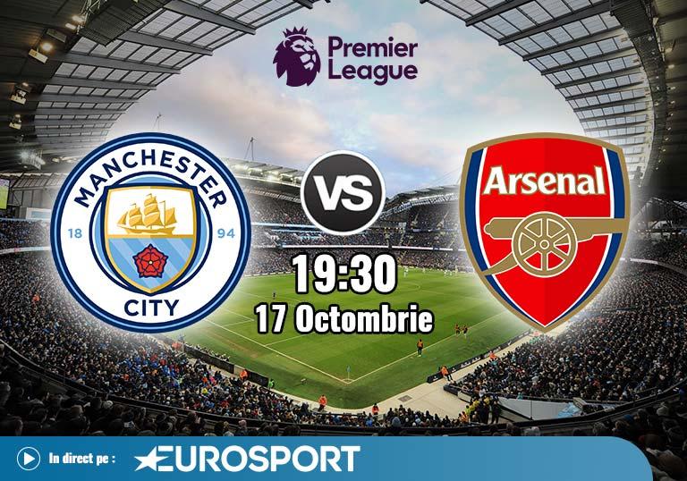 Man City Arsenal , Premier League, 2020