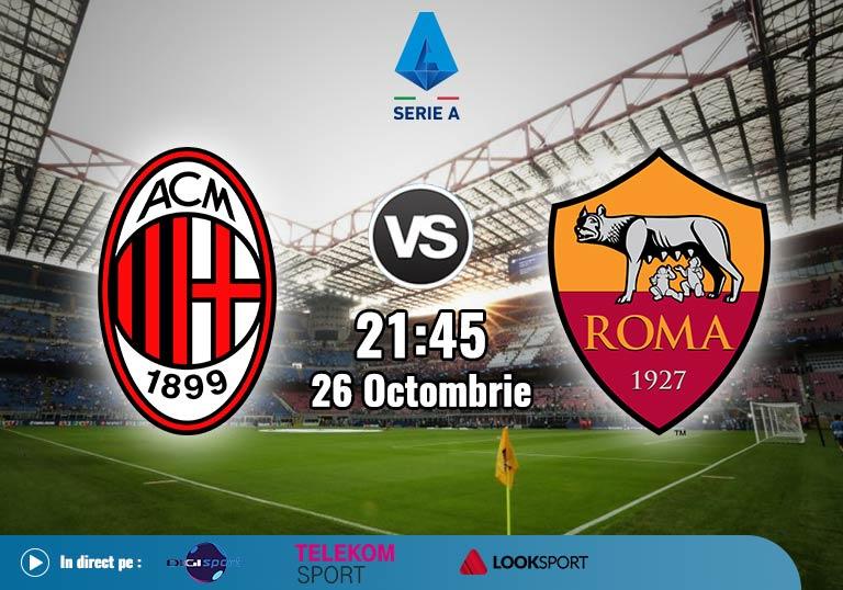 Milan Roma , Serie A , 2020