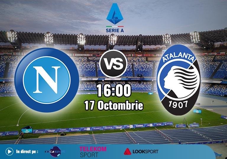 Napoli Atalanta , Serie A, 2020