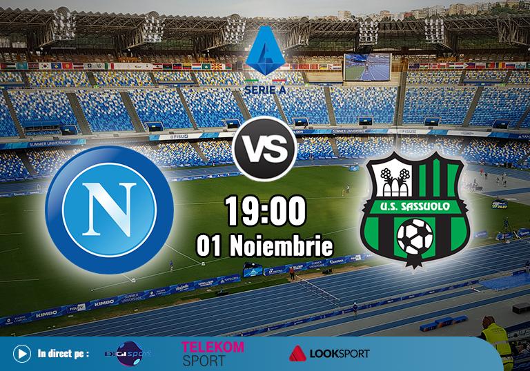 Napoli Sassuolo , Serie A, 2020