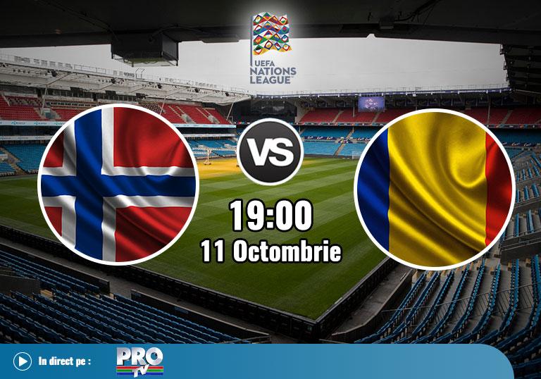 Norvegia Romania , Liga Natiunilor , 2020