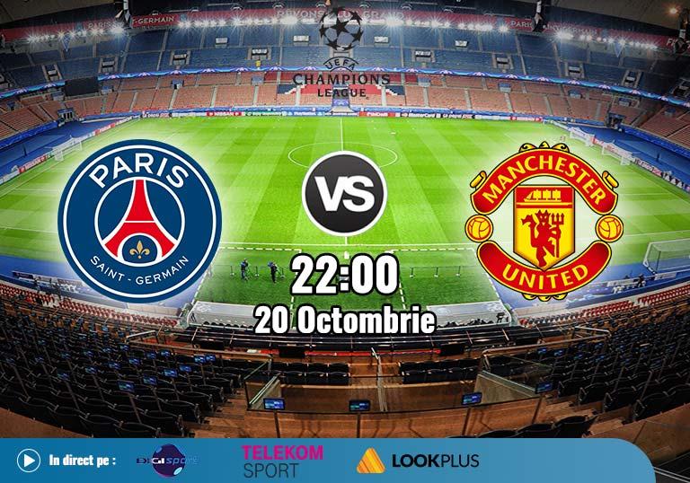 PSG Manchester United , Liga Campionilor , 2020