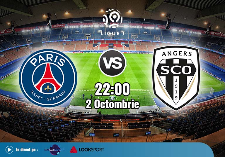 PSG Angers, Ligue 1, 2020