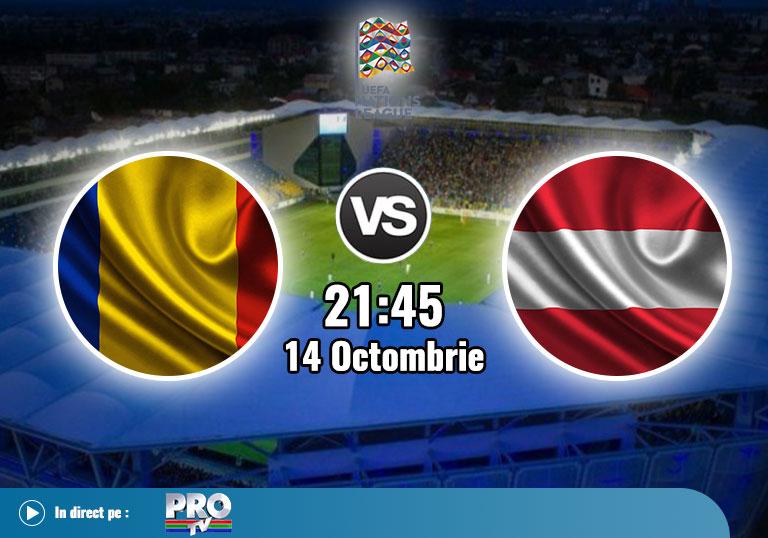 Romania Austria , Liga Natiunilor , 2020